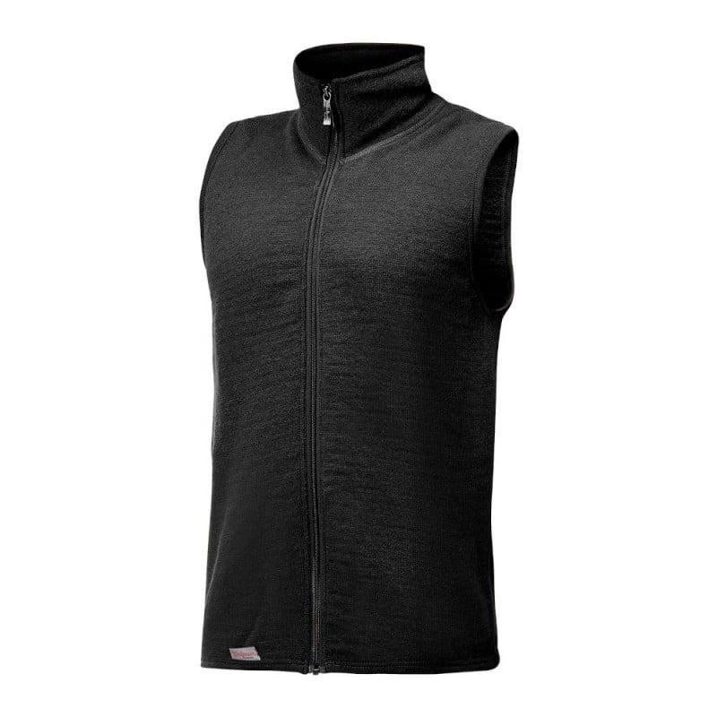 Woolpower Vest 400 in einem schlichtem Schwarz