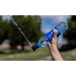 Culoclean Reisebidet auf dem Kopf gedreht für ausreichend Wasser
