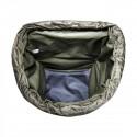 Blick von oben in den Packsack für Lastenkraxe