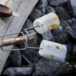 Grandpa's Fire Fork BIO mit Marshmellows