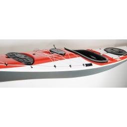 Rebel Kayaks Illka II rot+weiß-grau