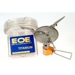 EOE Titanium Gaskocher mit Verpackung