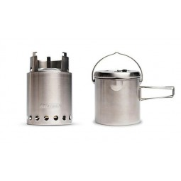 Solo Stove Titan Holzofen & Pot 1800 Combo
