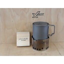 X-Boil FS 90-100 UL Kochsystem Musteraufbau - Lieferumfang ohne Topf