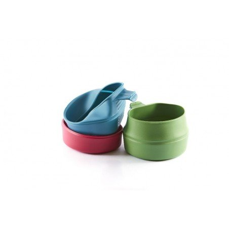 Wildo Fold-a-Cup GREEN übereinander gestapelt