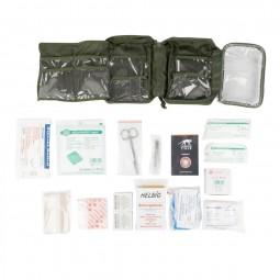 Tasmanian Tiger First Aid Complete MKII mit ausgebreitetem Inhalt