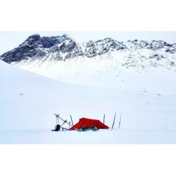 Hilleberg Nallo 4 Zelt im winterlichen Einsatz