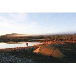 Hilleberg Nallo 4 Zelt in der schwedischen Wildnis