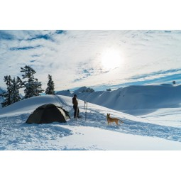 Hilleberg Staika Zelt im Schnee