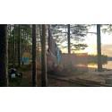 Hilleberg Mesh Box 20 als geschützter Aufenthaltsraum am See