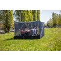 Hilleberg Mesh Box 20 als Outdoor Esszimmer ohne störenden Insektenbesuch