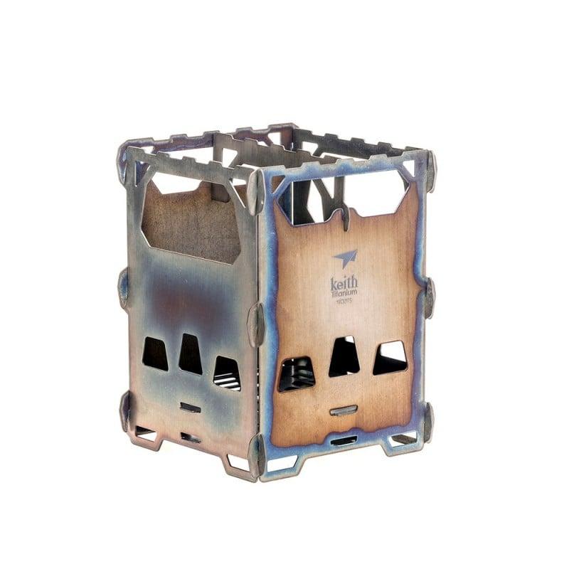 Keith Titanium Backpacking Wood Stove