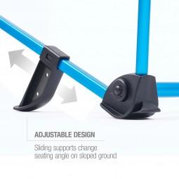 Helinox Incline Festival Chair mit verschiebbaren Füßen