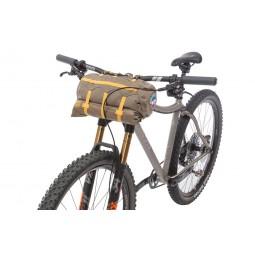 Big Agnes Tiger Wall UL3 Bikepack Solution Dye Packmaß am Fahrrad