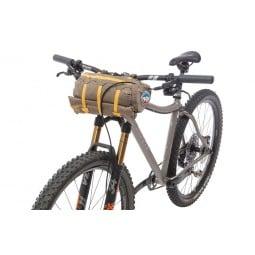 Big Agnes Tiger Wall UL2 Bikepack Solution Dye Packmaß am Fahrrad
