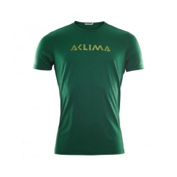 Aclima Lightwool Logo T-Shirt Eden
