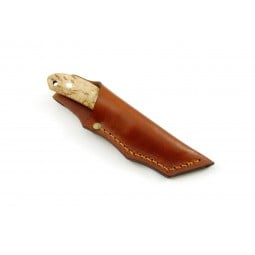 Safari Messer (nicht im Lieferumfang enthalten) zusammen mit Messerscheide