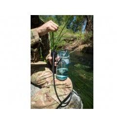 Pocket Wasserfilter im Einsatz