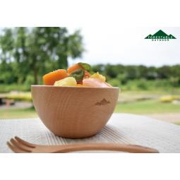 Evernew Forestable Soup Bowl mit Gabel daneben