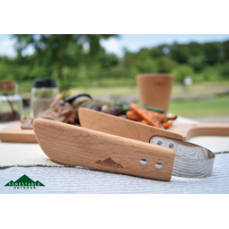 Evernew Forestable Table Tongs angerichtet auf Esstisch