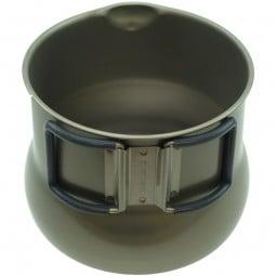 Evernew Titanium Tea Pot 500 mit Klappgriffen
