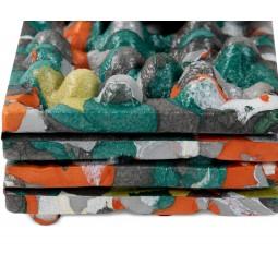 Chipper™ Reclaimed Sitzkissen lässt sich nahtlos ineinander falten