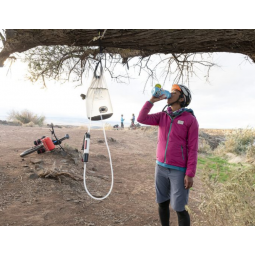 Guardian Gravity Wasserfilter im Outdooreinsatz