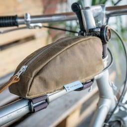 Pedalist Fahrrad Rahmen Etui im Einsatz