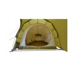 Blick ins Innere des Nordisk Oppland 2 PU Zeltes