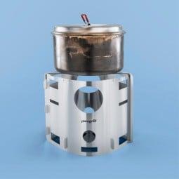 Picogrill 239 Hobo Kocher mit Kochtopf (nicht im Lieferumfang enthalten)
