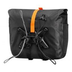 Ortlieb Handlebar Pack QR Rückseite mit innovativer Befestigung