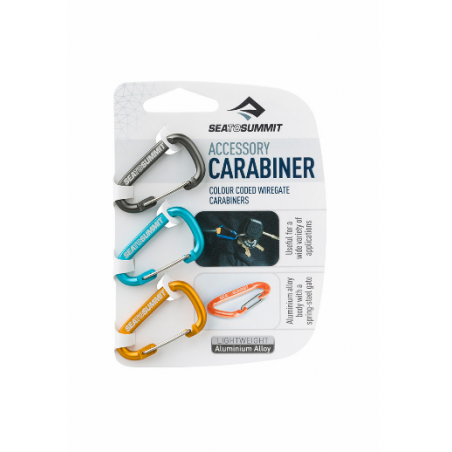 Sea to Summit Accessory Carabiner 3er Set