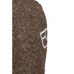 Ortovox Swisswool Classic Mitten Leather - Logo im Detail