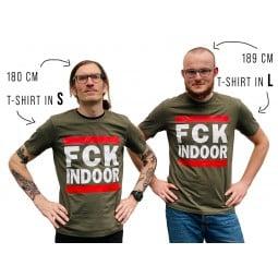 Walkonthewildside T-Shirt Biobaumwolle verschiedene Größen im Einsatz mit Infos