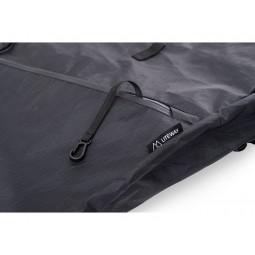 Liteway Urban Pack X-Pac 24L Rucksack Detailansicht YKK Aquaguard Reißverschluss mit Schlüsselkarabiner
