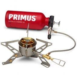 Primus OmniFuel Multifuelkocher mit Flasche