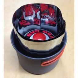 EOE Bulbul Titan Windschutz Beispielbild im Topf verpackt