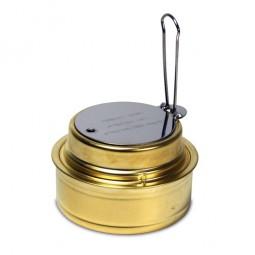 Esbit Spiritusbrenner mit Deckel und Regulierungs-Abdeckung