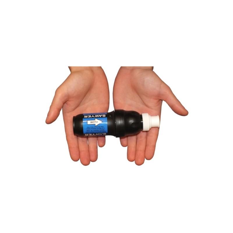 Sawyer Squeeze Filter handlich klein und extrem effizient