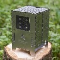Bushcraft Essentials Bushbox XL mit Universalrost