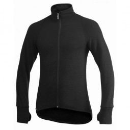Woolpower Full Zip Jacket 600 Unisex Schwarz