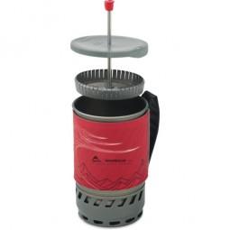MSR Windburner Kaffee Presse im Einsatz