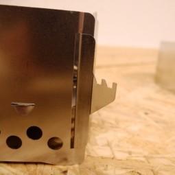 Produktdetail - Aufnahme für einen Windschutz