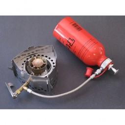 Clikstand S-2G Kocherstand in Verwendung mit dem Trangia Gasbrenner-Set