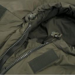 Carinthia Defence 6 Reißverschluss und Kordelzug Kopfbereich