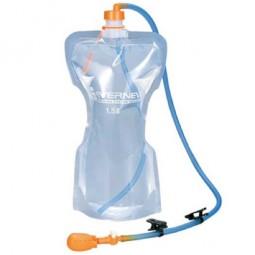 Evernew Hydration Tube Trinkschlauch Beispielbild mit Faltflasche (nicht enthalten)