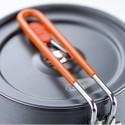 GSI Halulite Boiler 1.1 L Klappgriff fixiert gleichzeitig Deckel