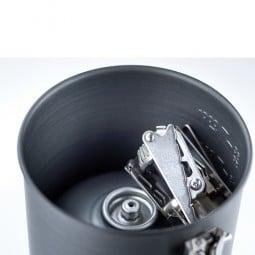 GSI Halulite Boiler 1.1 L Topf genug Platz im Inneren für Kartusche, Kocher, etc.