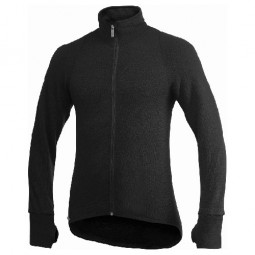 Woolpower Full Zip Jacket 400 Unisex Schwarz