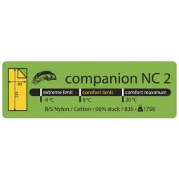 Lowland Companion NC2 Schema Temperaturbereich